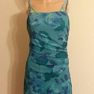 Flattering flower dress